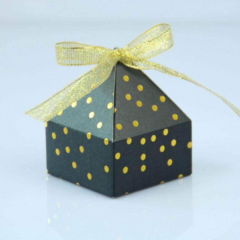 Caja De 50 Uds. De dulces decorativos para bodas, Cajas De papel...