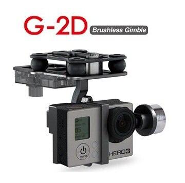 Original Walkera G-2D Aluminium Alloy Brushless Camera Gimbal for iLook / Gopro Hero 3 / Sony Camera for QR X350 PTZ