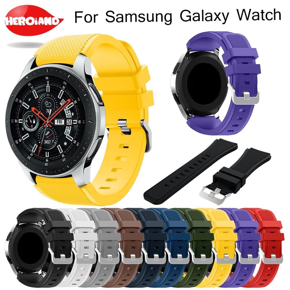 Novo Esporte silicone strap band Para Huami Amazônia Stratos 2/2 S Pulseira Suave relógio de Pulso cinta para Samsung relógio galáxia 46mm relógio