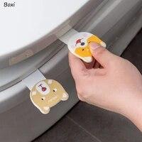 Boxi     couvercle de toilette Portable creatif  ensemble de poignee avec anneau de pot  produits de salle de bain  accessoires