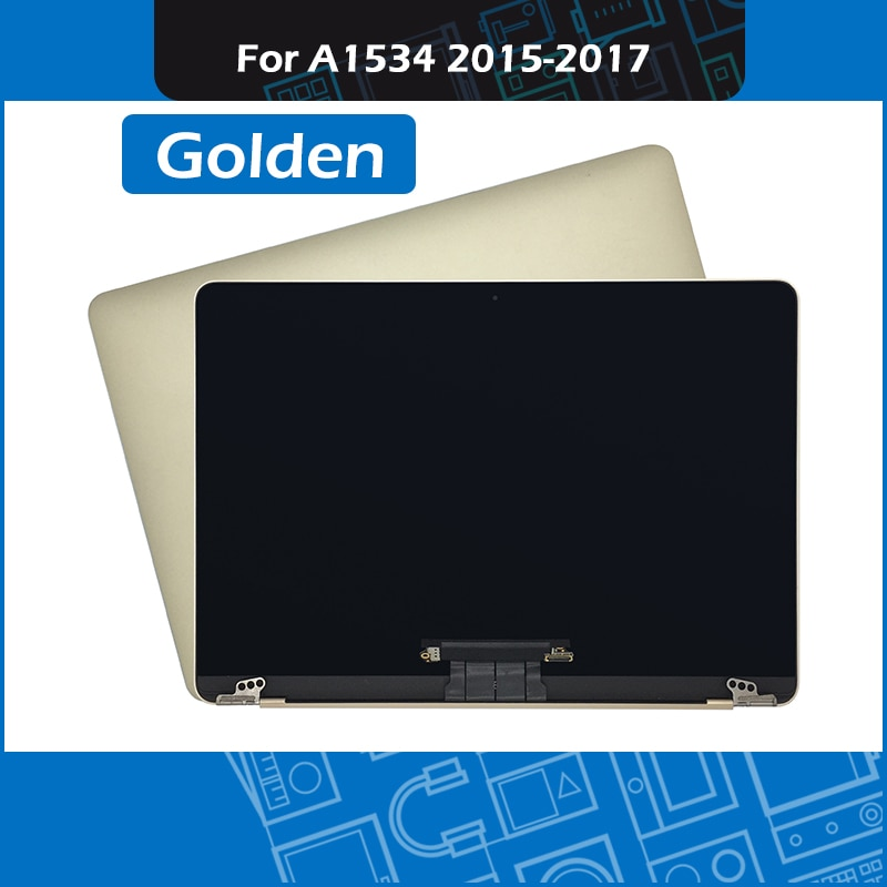 Gloden محمول A1534 LCD شاشة LED الجمعية ل ماك بوك الشبكية 12 بوصة عرض 2015 2016 2017 سنة EMC 2746 2991 3099