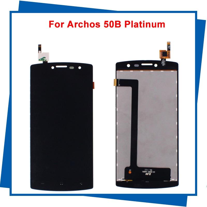 Para Archos 50 Platinum DJN15-22251-44501 pantalla LCD pantalla táctil para M4 SS4040 S4040 4040 universal teléfono móvil LCDs