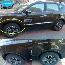 Para Geely Emgrand X7 EmgrarandX7 EX7 SUV, ceja de rueda de coche, accesorios de coche, pegatina de coche