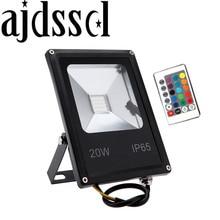 Lumières dinondation de LED 10 W 20 W 30 W 50 W Pir capteur de mouvement éclairage extérieur réflecteur Spot IP65 projecteurs lampe murale de jardin