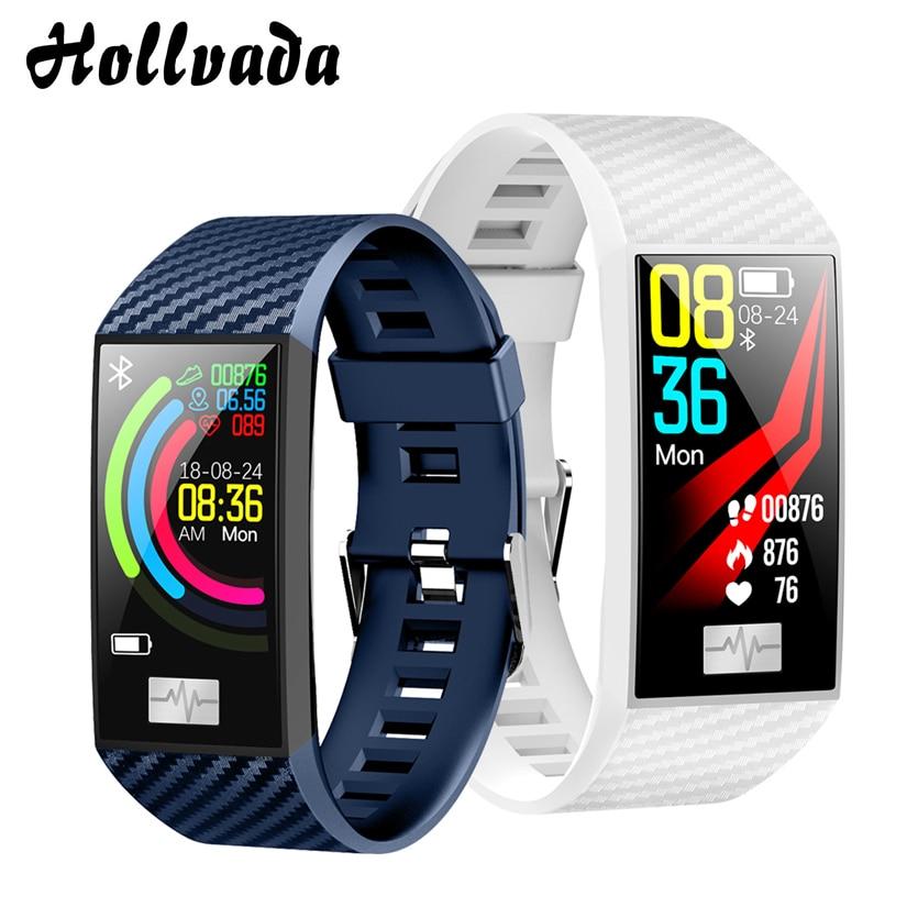 DT58 Smart watch women IP68 waterproof Activity tracker Fitness bracelet with Blood pressure Monitor Heart Rate tracker watch