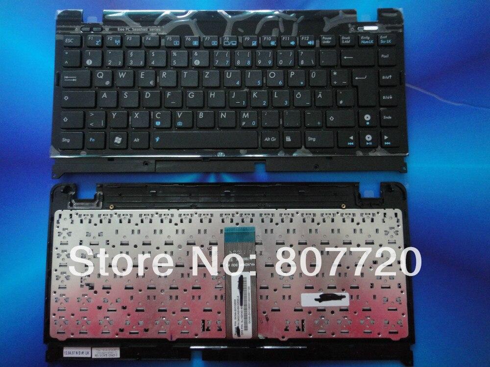 Frete grátis 100% brand new teclado alemão para asus eee pc 1215 p 1215n preto 1215 t 1215b