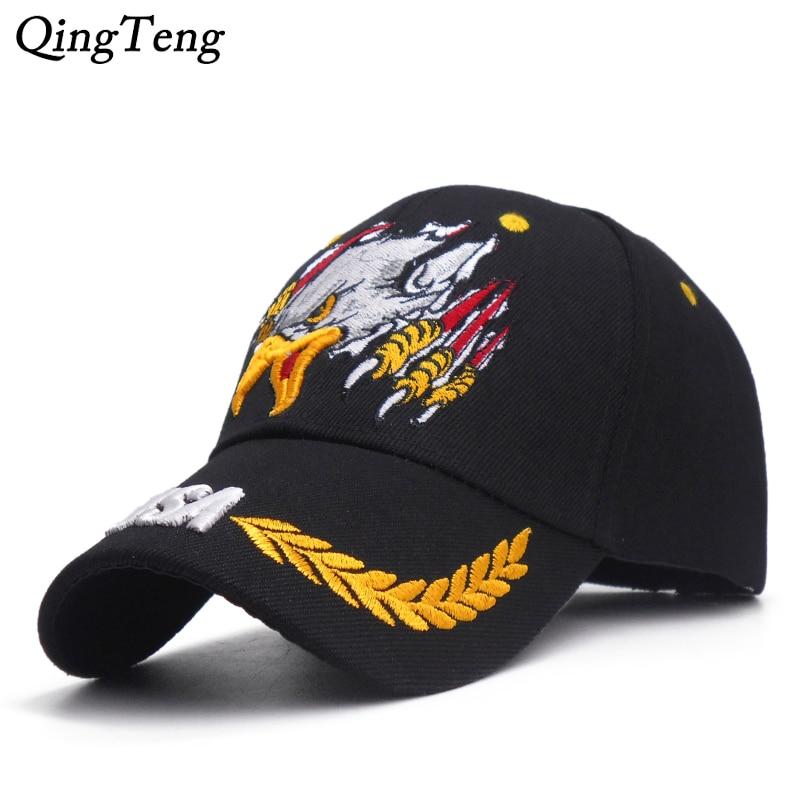 Gorra de béisbol de águila bordada de alta calidad para hombres, deportes al aire libre, sombrero militar para papá, gorra Snapback de ejército de ee.uu., gorra táctica de marca para hombre