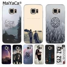 MaiYaCa TV Play Supernatural License Plate KANSAS KAZ 2Y5 phone case for samsung galaxy s7edge s6 ed