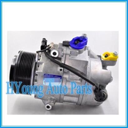 Alta calidad CSE717 de aire para compresor de aire acondicionado polea PV8 para BMW X6 F01 F02 740i 2008 de 64529205096 a 64529195974