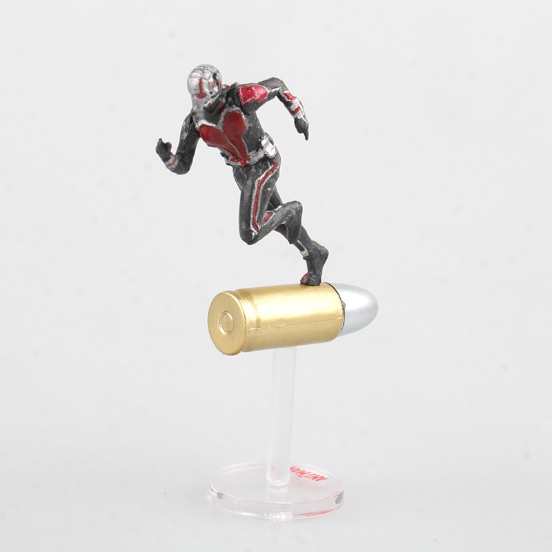 Marvel guerra Civil Capitán América superhéroes Ant Man Wasp Mini PVC figura de acción coleccionable modelo niños juguetes muñeca 6,5 cm