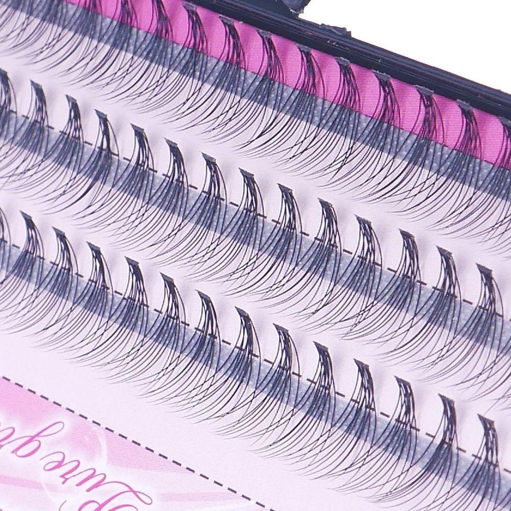 60 uds de maquillaje profesional de moda, pestañas individuales de racimo, injerto, pestañas postizas falsas, envío directo