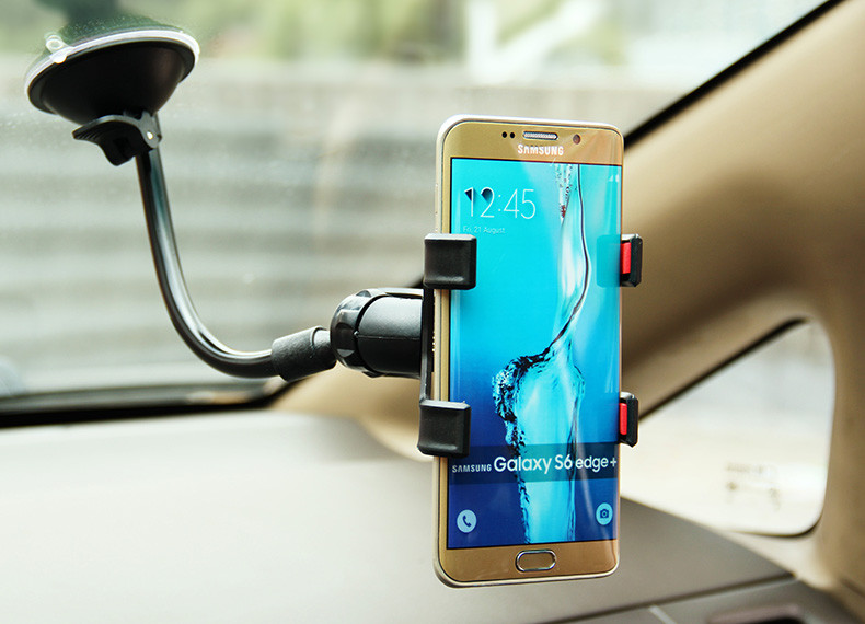 Uniwersalny uchwyt samochodowy uchwyt na telefon komórkowy dla iphone 6 6 s plus se obsługi stoiska dla samsung elastyczny uchwyt telefonu dla sony 10