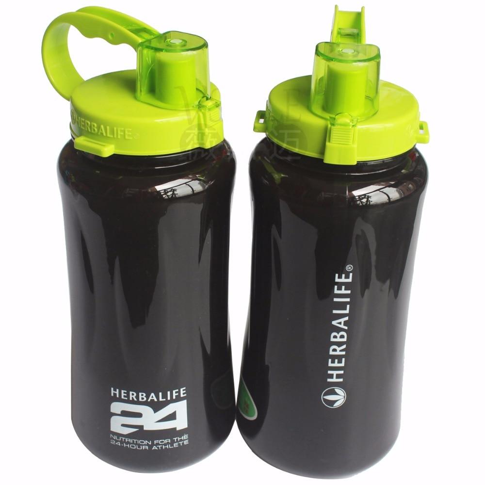 500ml/2l garrafa de água moda frozem portátil garrafa de água herbalife nutrição personalizado shaker garrafa frete grátis
