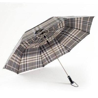 30HT мужской супер большой двойной складной полуавтоматический открытый и закрытый зонт для гольфа для бизнеса солнечный и дождливый