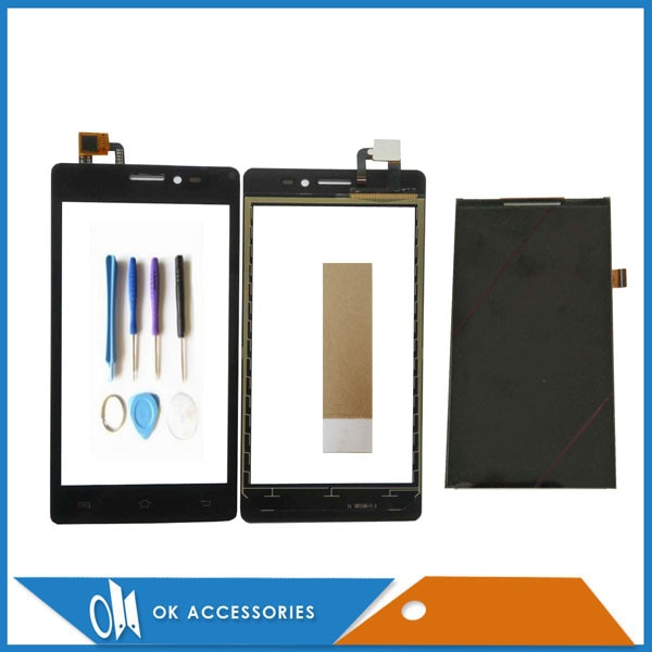 Para Prestigio zabio C3 PSP3503 PSP3519 PSP3509 PSP3505 separado pantalla LCD + digitalizador de pantalla táctil Color negro herramientas de cinta
