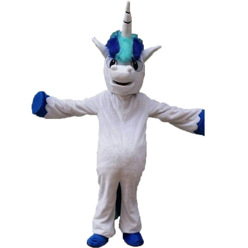 Disfraz de mascota Pnoy de caballo, disfraz de unicornio, disfraz de fiesta de cumpleaños, tema de Cosplay, disfraz de Carnaval de Mascota, Halloween, adulto