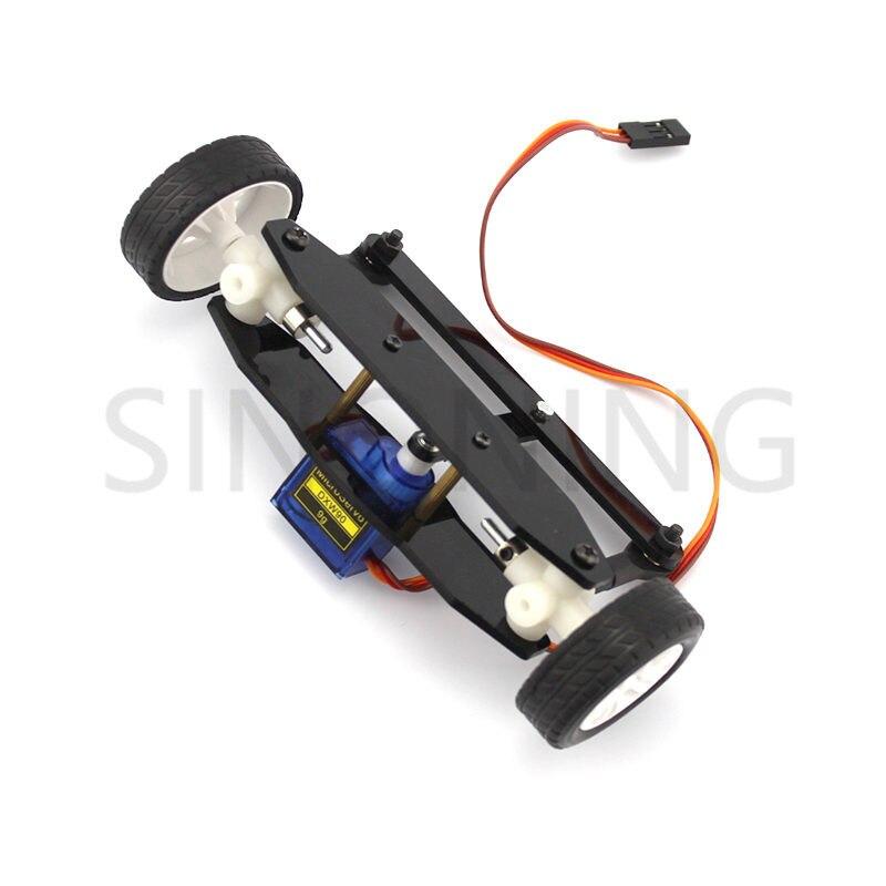 Le kit de bricolage de système de modèle de voiture de mécanisme de direction dessieu avant