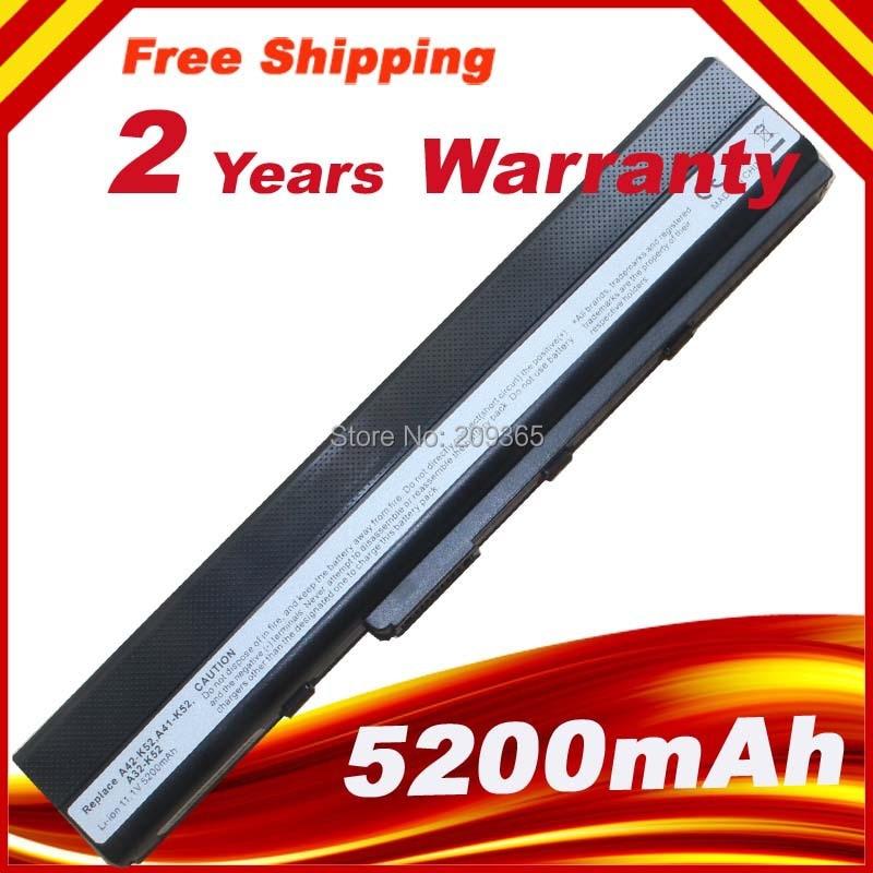 Аккумулятор для ноутбука asus Pro5IJK Pro5ij Pro67 Pro8C X52 X52D X52DE X52DR X52J X52JB X52JC X52JE X52JG X52J X42 X42D X42DE A32-K52