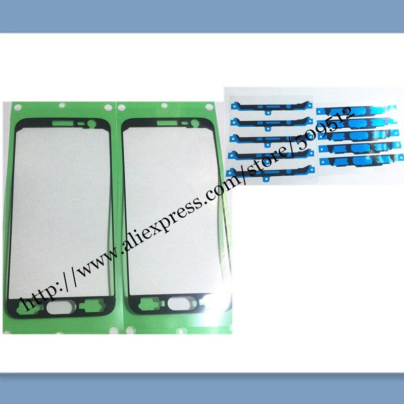 10 Uds mejor pantalla LCD OEM frente adhesivo pegamento cinta adhesiva para samsung Galaxy J3 J5 J7 versión 2015 J300 J500 J700