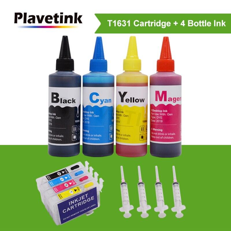 Plavetink T1631 16 Cartucho de Tinta Para Epson WorkForce WF-2010 WF-2510 WF-2520 WF-2530 WF-2540 WF-2630 WF-2660 + Dye Impressora de Tinta