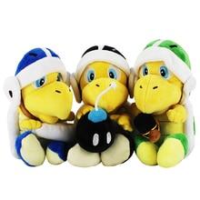 23CM figuras de Super Mario juguetes Super Mario Bros Mario Maker odisea Koopa Troopa juguetes de peluche muñecas