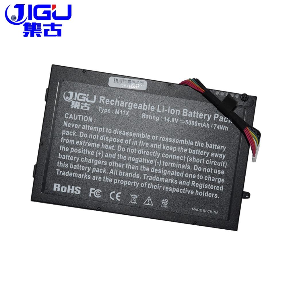 JIGU 8 celdas de la batería 08P6X6 8P6X6 P06T T7YJR PT6V8 para...