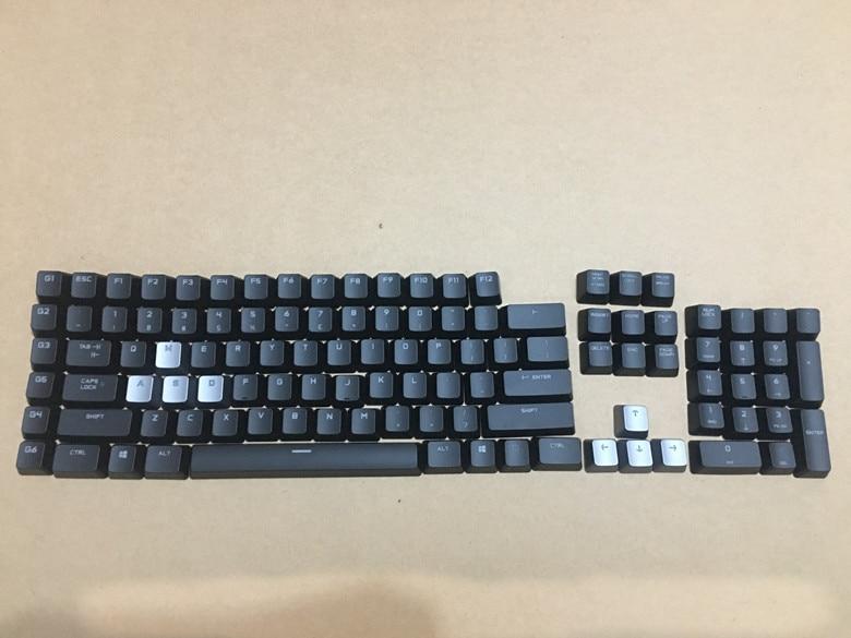 1 set original new keycaps for Logitech G710+ genuine black backlit mechanical keyboard keycap free shipping