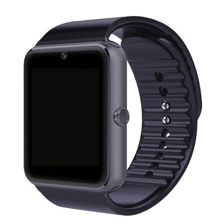 Reloj inteligente GT08, reloj para hombres, notificador de sincronización, compatible con tarjeta Sim TF, Bluetooth, teléfono Android, reloj inteligente de aleación, reloj inteligente