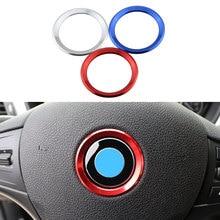 Farbe Mein Leben Auto Styling Dekoration Ring Lenkrad Kreis Aufkleber Für BMW M3 M5 E36 E46 E60 E90 E92 x1 F48 X3 X5 X6