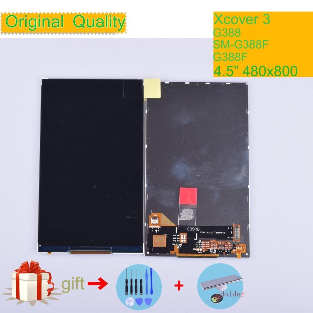 LCD ORIGINAL para Samsung Galaxy Xcover 3 SM-G388F G388 G388F pantalla LCD de 4,5 pulgadas para Xcover3 G388 pantalla LCD
