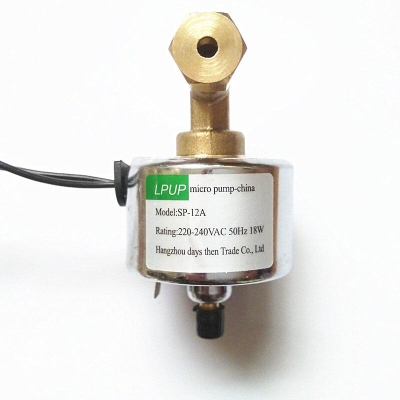 1000 Wsmoke maschine ölpumpe Modell SP-12A Spannung 220-240VAC-50Hz Power 18 Watt