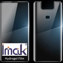 Asus zenfone 6 용 imak 하이드로 겔 필름 s630kl 화면 보호 투명 소유 성