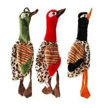 30*9cm ilginç Squeak peluş evcil köpek oyuncak ördek kuş doldurma ücretsiz yavru interaktif oyun çeşitli renk yeni 1 adet