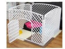 Teddy chien chien cage clôture grande petite et moyenne taille chien chenil chien clôture essayer que ours clôture pour animaux de compagnie taille 100*75*75 cm
