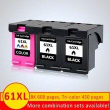 XiangYu 리필 잉크 카트리지 61XL HP 61 XL HP Deskjet 2000 2050 2512 3000 J110a J210a J310a