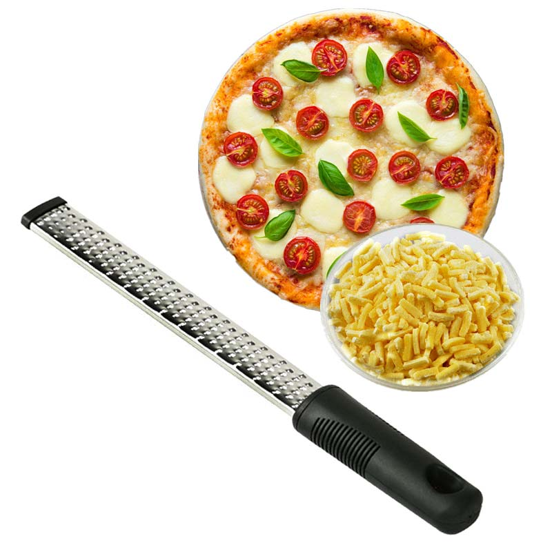 12 Inch Multifunctional Rectangle Stainless Steel Cheese Grater Tools Chocolate Lemon Zester Fruit Peeler Kitchen Gadgets FBE3
