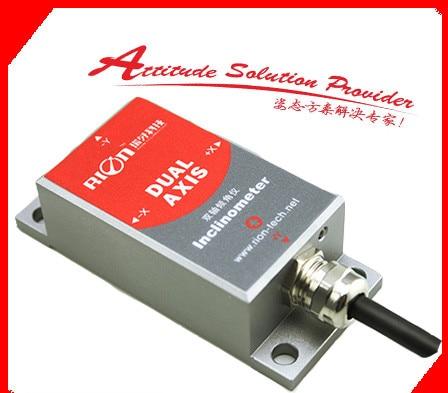SCA118T single axis current output tilt sensor, angle module, inclinometer