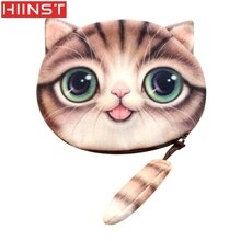 Women Cute 3D Print Cat Girls Tail Plush Coin Purse Change Purse Bag Wallet  Designer Wallets  High Quality Hot Sale N21