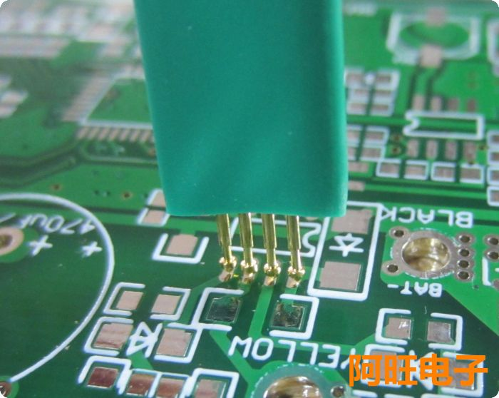 1,25-4 P STC aguja de prueba de quemaduras programa de escritura sonda 4 Pin aguja de resorte 1,25mm 4 P