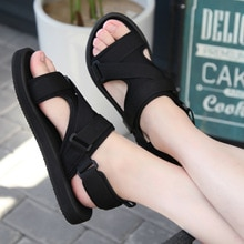 Roman Sandal Men's Summer New Style Outdoor Non-slip Breathable Men Fashion Trend Black Beach Shoes Casual Sandals Men