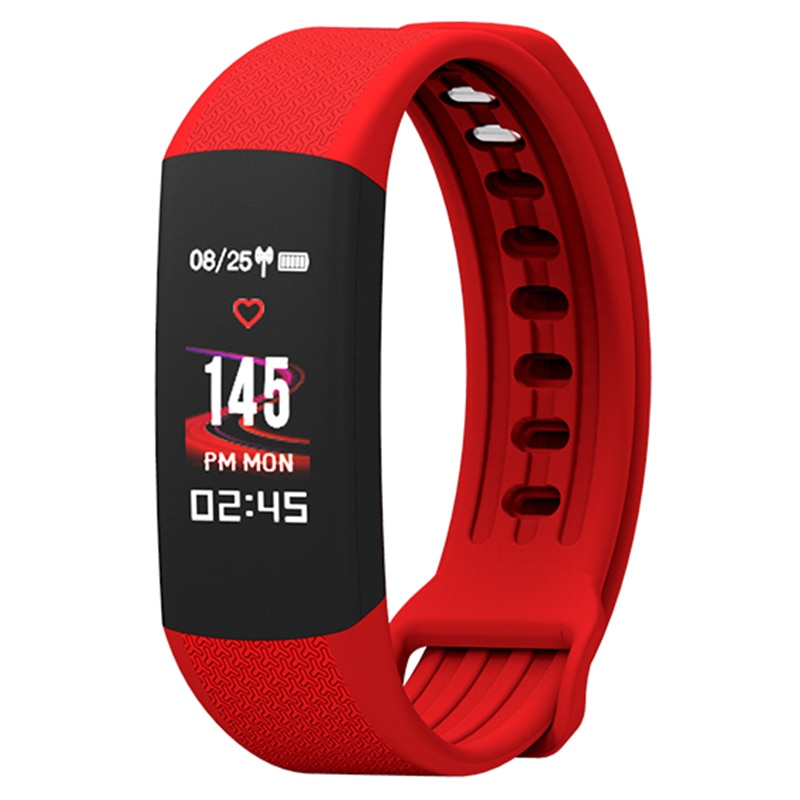 Pulsera inteligente B6 con rastreador de actividad a prueba de agua para mujer, pulsera inteligente con Monitor de ritmo cardíaco, podómetro, reloj despertador, pulsera para Android IOS