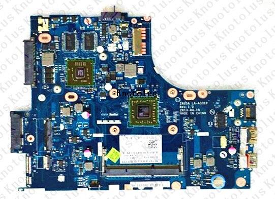 11S90003532 pour Lenovo ideapad S415 ordinateur portable carte mère LA-A331P ddr3 livraison gratuite 100% test ok