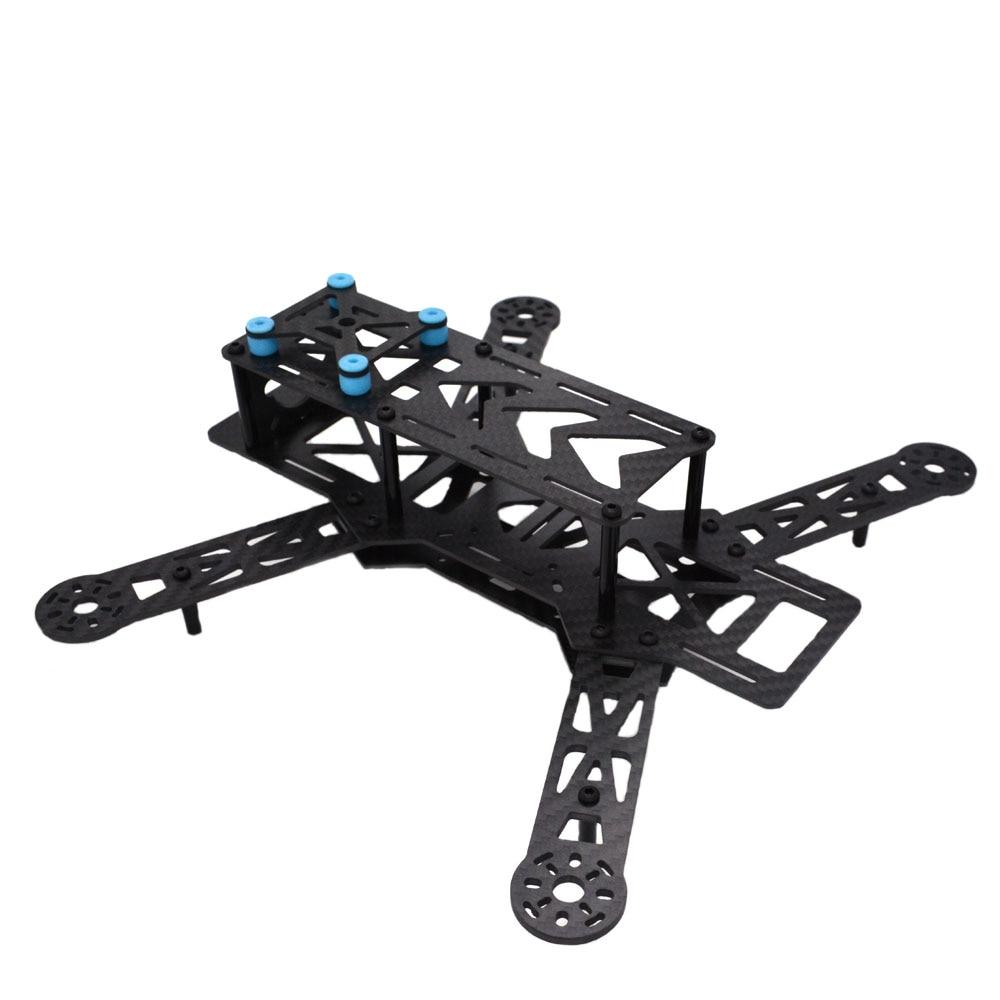 LHI Diy qav250 quadcopter frame kit flight controller zmr250 qav 250 carbon fiber with camera drone accessories quadrocopter enlarge