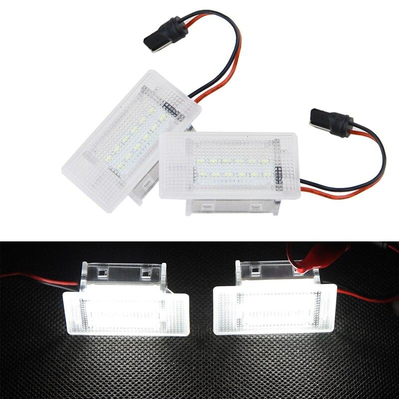 Светодиодная лампа для багажного отсека, белая лампа для замены багажника для Ford Focus MK1 Facelift escet Fiesta Focus II Cabriolet