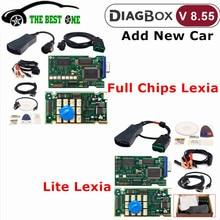 Newest Diagbox V8.55+V7.83 lexia 3 Full Chips lexia-3 FW 921815C Lexia3 PP2000 V48/V25 For Citroen/Peugeot Car Diagnostic Tool