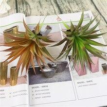 Artificial aloe maguey agave planta verde suculenta falso plástico flowe material diy
