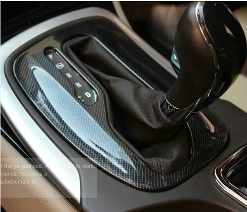 Automatic Gear carbon fiber stickers ABS Car Accessories For opel Insignia sedan Sport Tourer 2009 2010 2011 2012 2013 2014 2015