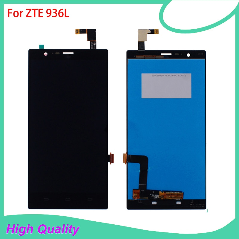 LCD Display Touch Screen For ZTE 936L Lever LTE Z936L High Quality Mobile Phone LCDs 100% Tested Fre