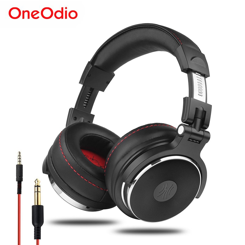 Oneodio Wired Professional Studio Pro DJ Headphones With Microphone Over Ear HiFi Monitor Music Head