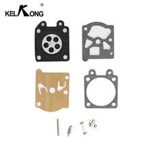 KELKONG 1 Set Walbro 기화기 수리 키트 STIHL MS 180 170 MS180 MS170 018 017 전기 톱 교체 부품